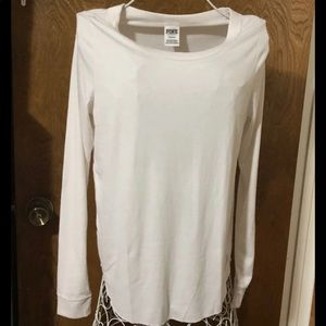 Victoria Secret pink White Long sleeve